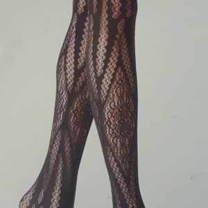 Zigzag Net Fashion Tights